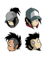 PCK Heads by rocktoons-iloilo