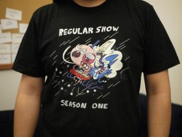 Regular Show Crew Shirt by JGQuintel
