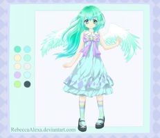 Adoptable Girl Auction #1 [Closed] by RebeccaAlexa