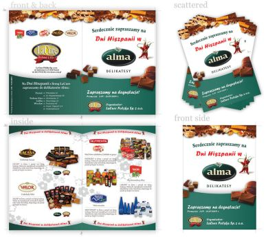 Brochure for Alma by neatgroup