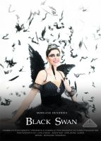 Black Swan mock dvd movie poster by chamellephoto