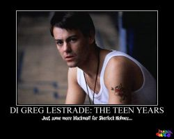 DI Greg Lestrade: The Teen Years by SonicScrewdriverDD3