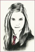 Ginny Weasley by thewholehorizon