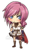 Chibi Lightning by iPhysik