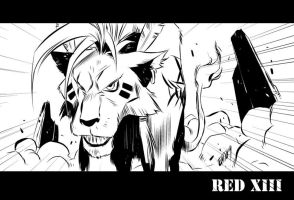FFVII: Red XIII by iq40