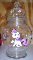 Sweetie Belle Candy Jar by LilSugarberry