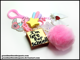 Magical Girl Bag Clip by GrandmaThunderpants
