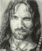 Aragorn by maddrawings