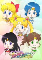 Sailormoon Sailor Stars by 0ffie