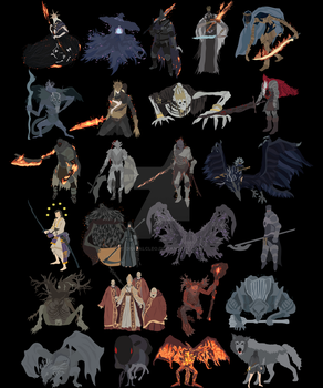 Dark Souls III - All bosses [Complete edition] by DigitalCleo