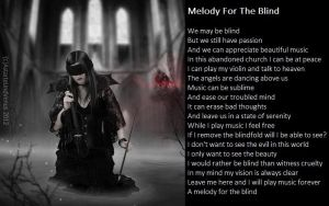 Melody For The Blind by demonrobber