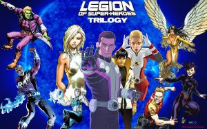 Legion of Superheroes Trilogy by Xionice