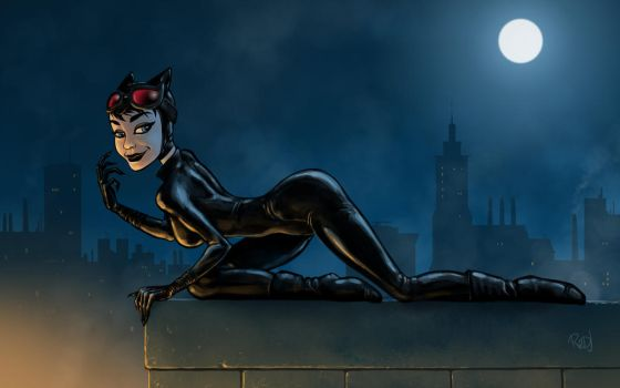 Trinquette Weekly - Catwoman by redj