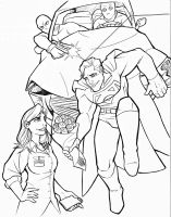 Valentines Day Sketch - Superman and Lois Lane by TravisTheGeek