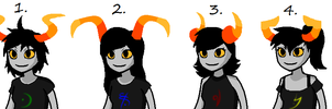 Homestuck Female Fantroll Adoptables -CLOSED- by Twine-Adopts