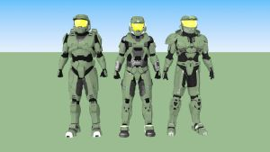 Halo Spartans by Dutch02