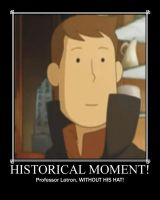 Professor Layton Historic Moment Motivational by Alicehime21