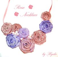 BIB-Roses necklace by Hyo-pon