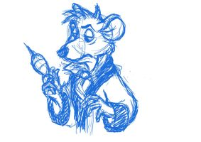 Basil the Great Mouse Detective by ProdigiousAltitude
