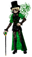 APH: The Black Queen by Rose-McSugar