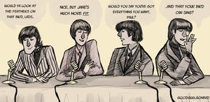 1966 Beatles Press Conference by GoodGurlGonBad