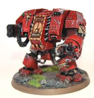 Blood Ravens Dreadnaught by danielcherng