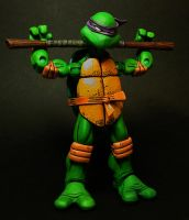 Donatello does machines. by 1-2-3-faux