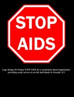 STOP AIDS Logo by doughboy2169