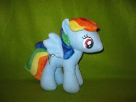 Rainbow Dash Plush by Nethilia