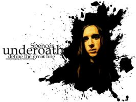 Spencer of Underoath by marksmangreg