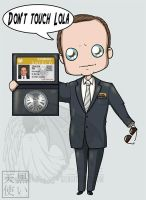 Coulson says Don't touch Lola by kuroitenshi13