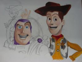 Toy Story 2 (Unfinished) by spidyphan2