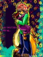 -My brother and me- by Ittermat