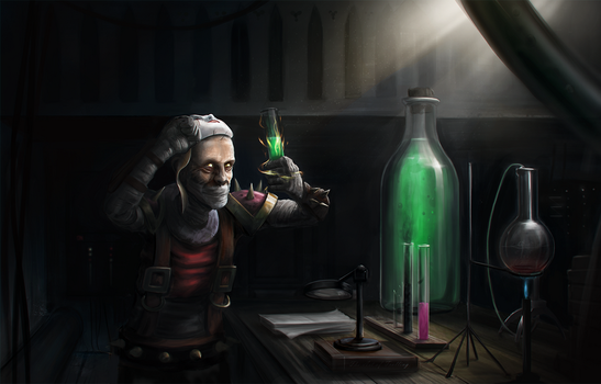 Singed - The Preparation. by COMBAT-BANANA