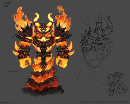 Master Ragnaros by Mr--Jack