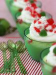 Christmas Themed Homemade Lime Pudding by theresahelmer