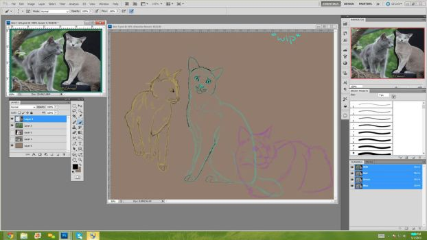 Bluestar Amv- Skinny Love Wip by The-Derpfaced-Kitty