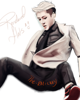 Sexy Sehun : Rendered Flats Wip 1 by The-Rmickey