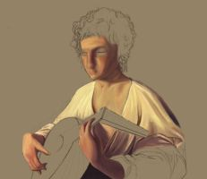 WIP2 Lute Player by Metty
