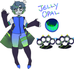 gemsona: jelly opal by Suttakaratta