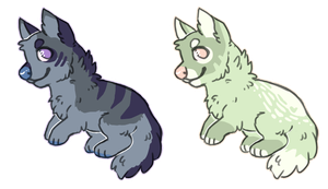 wolf/canine point adopts! [closed] by radicaliron