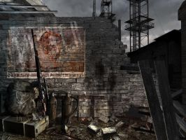 S.T.A.L.K.E.R. In-game menu by Number14