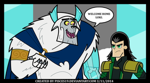 Loki of the Far Frozen by Pisces19