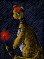Favorite Electric type: Ampharos by Chardove