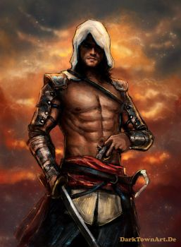 Assassin's Creed 4 Edward Kenway (Revised) by ZombieSandwich