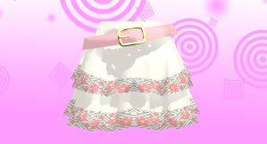 MMD cute pink skirt Download by 9844