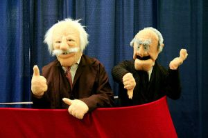 Statler and Waldorf MuppetShow by waynekaa