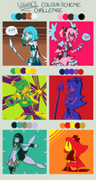 WHY WE FITE?? (color challenge with medukas) by J5-daigada