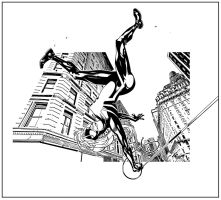 Spider-Girl swing by terrypallot
