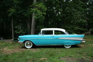 57 Chevy Belaire Stock by churra-stock